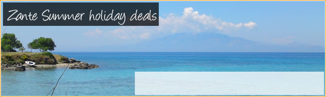 Summer holiday deals to Zante