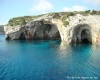 The Blue caves of Zante