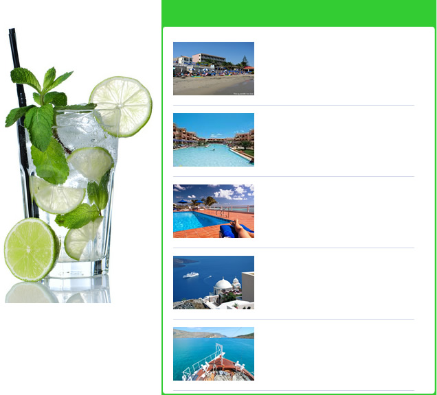 Featured holiday resorts